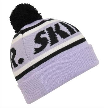 Planks Skier Ski/Snowboard Beanie Bobble Hat, One Size Purple Haze