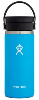 Hydro Flask 16oz Wide Mouth Flex Sip Lid Coffee Flask, 16oz Pacific
