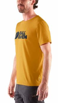 Fjallraven Fjällräven Logo Short Sleeve Graphic T-Shirt, XL Ochre