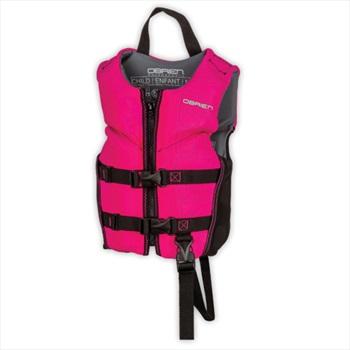 O'Brien Kids Neo V Back HMZ Buoyancy Aid, Child Pink 2021