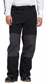 Adidas Adult Unisex 20k Fixed Ski/Snowboard Pants, Xl Black