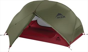 MSR Hubba Hubba NX Tent Lightweight Backpacking Shelter 2 Man Green
