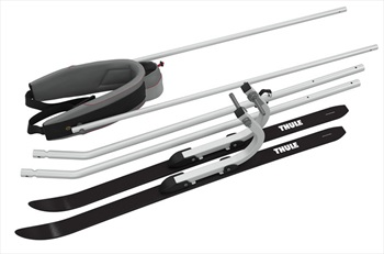 Thule Ski Pull Kit Child Carrier Conversion Kit, Silver