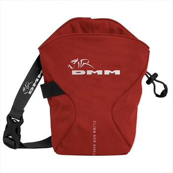 DMM Traction Rock Climbing Chalk Bag, Os Red