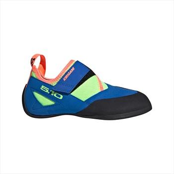 Adidas Five Ten Kirigami Kids Rock Climbing Shoe C UK13.5 Blue/Green