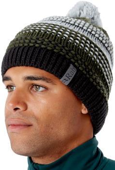 Rab Chilli Ski/Snowboard Bobble Hat Beanie, One Size Sherwood Green