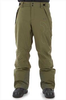 Oakley Cedar Ridge Insulated Snowboard/Ski Pants, M Dark Brush