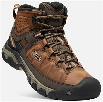 Keen Targhee III Mid WP Hiking Boots, UK 7.5 Big Ben/Golden Brown