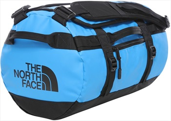 The North Face Base Camp Xs Duffel Travel Bag, 33l Clear Lake Blue/Tnf Black