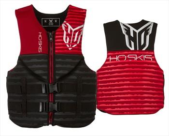 HO Sports Pursuit Neoprene Water Sports Buoyancy Vest, M Red Black