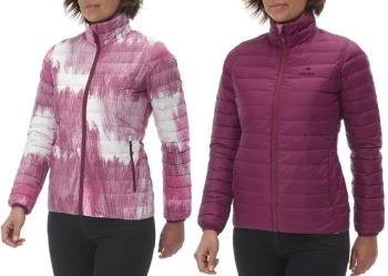 Eider Twin Peaks Reversible Women's Insulated Down Jacket, M, Pink