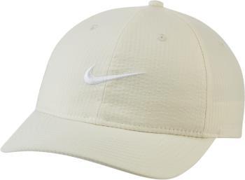 Nike SB Heritage86 Seersucker Snapback Cap, Adjustable Off White