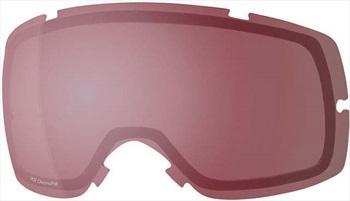 Smith Vice Ski/Snowboard Goggles Spare Lens, Chromapop Everyday Rose