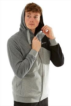 Kilpi Adult Unisex Balto Hooded Sweatshirt - L, Dark Grey