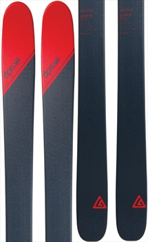 DPS Cassiar 95 Tour1 Skis, 168cm Grey/Red