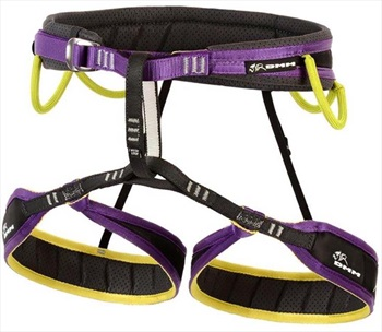 DMM Adult Unisex Trance Rock Climbing Harness, XS Purple