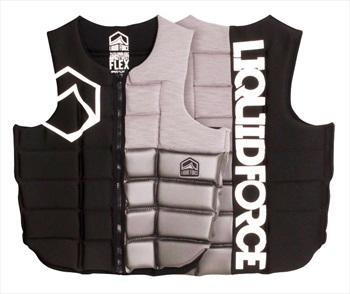 Liquid Force Flex Wakeboard Impact Vest, M Black Silver