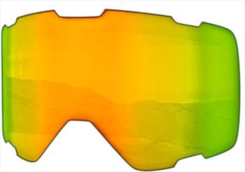 Melon Parker Ski/Snowboard Goggle Lens, One Size Gold Chrome