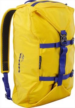 DMM Classic Rock Climbing Rope Bag, 32L Yellow