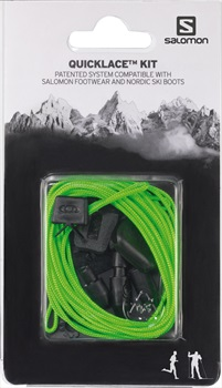 Salomon Quicklace Snowboard Boot Replacement Lace Kit One Size Green