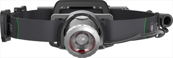 Led Lenser MH10 Headlamp IPX4 Rechargable Head Torch, 600 Lumens Black