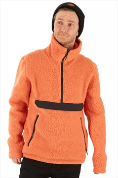FW Root Pillow Pullover Midlayer Fleece Jacket, L Orange