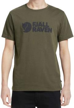 Fjallraven Fjällräven Logo Short Sleeve Graphic T-Shirt XL Dark Olive
