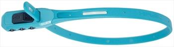 Hiplok Z Lok Combo Steel Core Cable Tie Combination Lock, 40cm Cyan