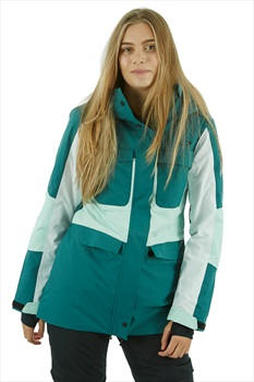 Oakley Moonshine 2.0 Women's Snowboard/Ski Jacket, S Balsam