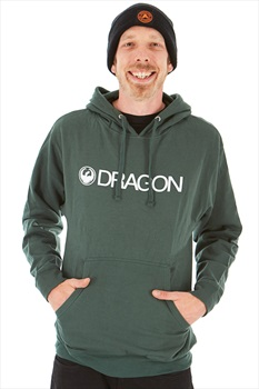 Dragon Trademark Hoodie, M Alpine Green