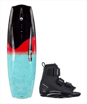 Liquid Force Trip   Plan B Wakeboard Package, 144  9-11 Red Black
