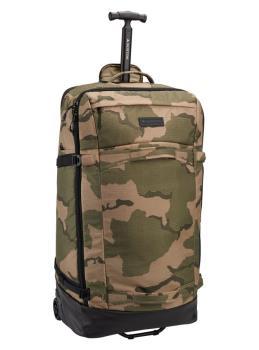 Burton Multipath Checked Wheeled Travel Bag, 90L Barren Camo Print