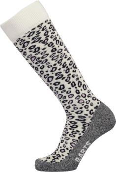 Barts SkiSock Tech Animal Ski/Snowboard Socks, UK 2-5 White