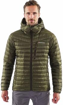 Montane Featherlite Down Insulated Hiking Jacket, S Kelp Green