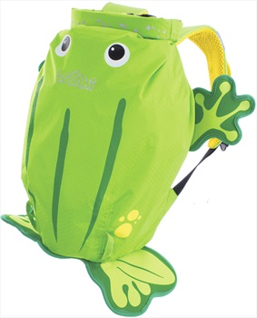 Trunki PaddlePak Kid's Backpack, 7.5L Ribbit The Frog