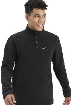 Kathmandu Pelorus Insulated Pullover/Fleece, XL Black