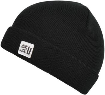 Planks Drop Cliffs Original Beanie Hat, One Size New Black