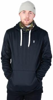 Planks Adult Unisex Park 'N Ride Technical Mid Layer Hoodie, S Black