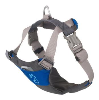 Mountain Paws Dog Harness Adjustable Pet Harness, Small Blue