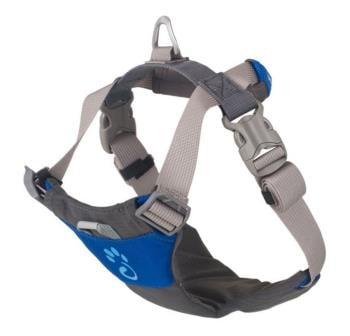 Mountain Paws Dog Harness Adjustable Pet Harness, Large Blue