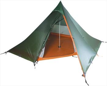 Nigor WickiUp 4 Tipi Ultralight Backpacking Tent, 4 Man Willow
