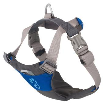 Mountain Paws Dog Harness Adjustable Pet Harness, XL Blue