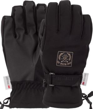 POW XG Mid Insulated Ski/Snowboard Gloves XL Black