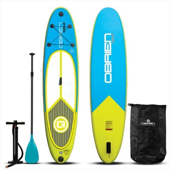 """O'Brien Hilo All-round ISUP Paddleboard Package, 10'6"""" Blue Yel. 2021"""