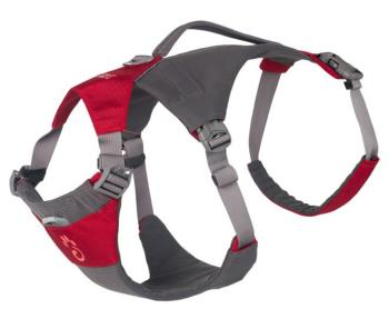 Mountain Paws Dog Hiking Harness Adjustable Pet Harness, Small Red