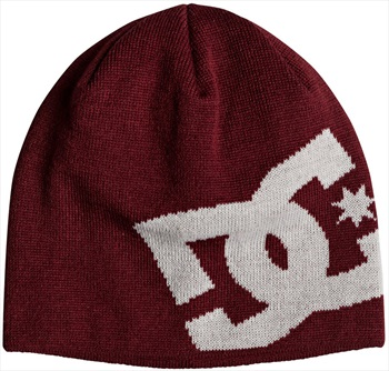 DC Big Star Ski/Snowboard Beanie Hat, One Size Cabernet