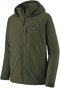 Patagonia Quandary Waterproof Shell Jacket, XL Alder Green