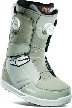 thirtytwo Lashed Double Boa Men's Snowboard Boots, UK 10 Crab Grab 2021