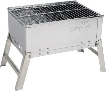 Bo-Camp BBQ Compact Deluxe Portable Camp Grill & Fireplace