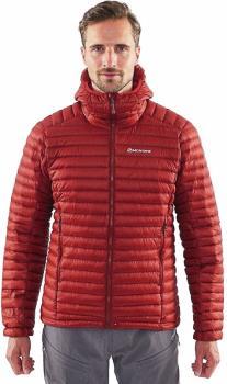 Montane Adult Unisex Flylite Down Insulated Hiking/Walking Jacket, Xl Redwood